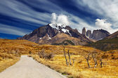 Torres del Paine, Patagonia, Chile — Stock Photo