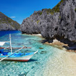 Stock Photo: Tropical beach, Philippines