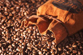 Bag of coffee — Stock Photo