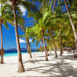 Tropical beach, Philippines — Stock Photo