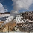 Active volcanic crater — Stock Photo