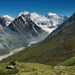Belukha- the highest peak of Siberia — Stock Photo