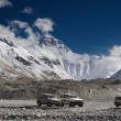 Stock Photo: Everest base camp