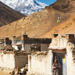 Stock Photo: Tibetan village