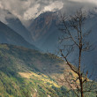 himalayan landscape — Stock Photo