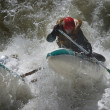 Rafting competition — Stockfoto