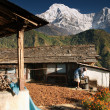 Stock Photo: Himalayvillage, Nepal
