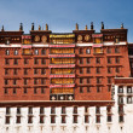 Potala palace in Lhasa, Tibet — Stock Photo