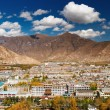 City of Lhasa- capital of Tibet — Stock Photo