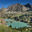 Mountain lake Darashkol — Stock Photo