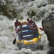 Rafting competition — Foto de stock #28216489