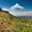Rural african landscape — Stock Photo
