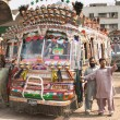 Pakistani local buses — Stock Photo #28216689