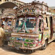 Pakistani local buses — Stockfoto