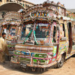 Pakistani local buses — Stock Photo #28216699
