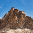 Stock Photo: Ancient tibetfortress. Gyantse, Tibet