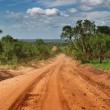 African road — Stock Photo