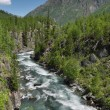 Mountain river — Photo