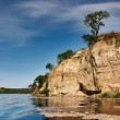 Stock Photo: Lake with rocky shore