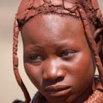 Himba girl, Namibia — Stock Photo
