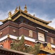 Stock Photo: Tashilhunpo monastery in Tibet