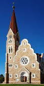 Lutheran church in Windhoek, Namibia — Stock Photo