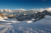 Belukha- the highest peak of Siberia — Stock Photo