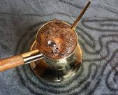 Turkish coffee-pot — Stock Photo