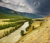 Mountain river — Foto Stock