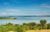 Kazinga Channel in Queen Elizabeth NP, Uganda — Stock Photo