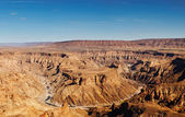 Fish River canyon, Namibia — Stock Photo