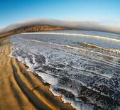 Atlantic coast, Luderitz, Namibia, Agate Beach — Stock Photo
