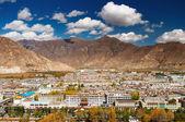 City of Lhasa- capital of Tibet — Stock Photo