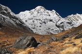 Mountain landscape, Annapurna South, Himalaya, Nepal — Stock Photo