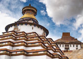 Tibetan monastery — ストック写真
