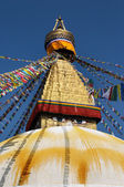 Buddhist temple Bodhnath in Kathmandu, Nepal — Photo