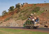 Trafic routier d'Afrique — Photo