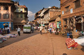Kathmandu-huvudstad i nepal — Stockfoto