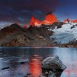 Mount Fitz Roy, Patagonia, Argentina — Stock Photo