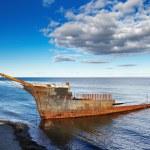 Lord Lonsdale frigate wreckship — Stockfoto