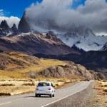 Road to Mount Fitz Roy, Patagonia, Argentina — Stock Photo