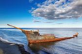 Lord Lonsdale frigate wreckship — Stock Photo