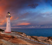 Castle Point Lighthouse, New Zealand — Stock Photo