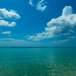 Ocean and sky. - Stock Photo