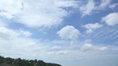 Blue sky — Stock Video