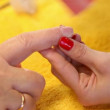 Manicure. — Stockvideo