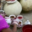 Indian pottery — Stock Video
