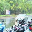 Rainy day on Phuket — Stock Video