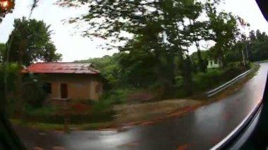Podél silnice — Stock video