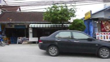 Gatorna i phuket — Stockvideo